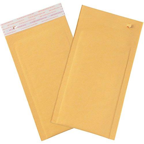 Aviditi B852SSTT25PK carta #00 autosigillante con striscia di strappo, 25,4 cm di lunghezza x 12,7 cm di larghezza, carta kraft (confezione da 25)