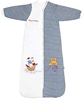 Slumbersac Toddler Winter Sleeping Bag with Non Removable Long Sleeves 3.5 Tog - Pirate - 18-36 months/110cm