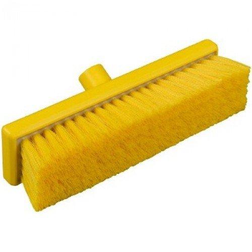 Janitorial Express hp059-y igiene piatto spazzare scopa morbida, 300mm, giallo