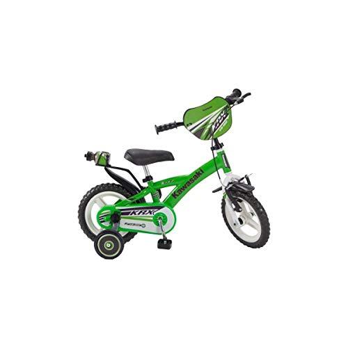 Pik&Roll Kawasaki kinderfiets, uniseks, groen, 12 inch