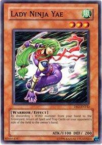 Yu-Gi-Oh! - Lady Ninja Yae (DR2-EN142) - Dark Revelations 2 - Unlimited Edition - Common by Yu-Gi-Oh!