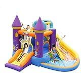 WRJY Castillo Hinchable para niños, Castillo Hinchable, tobogán para el hogar, trampolín, Parque de Juguete Cuadrado, tobogán acuático, tobogán de Escalada, Piscina para niños