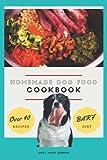Homemade Dog Food Cookbook BARF Diet Over 40 Recipes