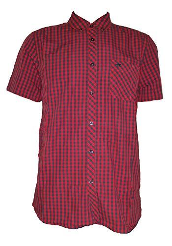 MUSTANG Herren Collin BDC 1/2slv Freizeithemd, Rot (Vcheck_2 11652), (Herstellergröße: XX-Large)