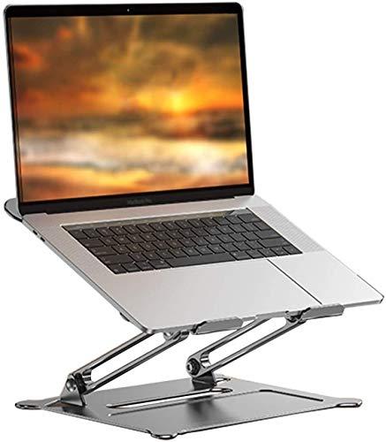 WJJ Soporte Para Laptop Portátil Soporte Para Portátil De Aluminio Reclinable Soporte Portátil Ventilado Para Computadora Portátil Plegable Compatible Con 11 '' -17 '' Tabletas Portátil Soporte Para L
