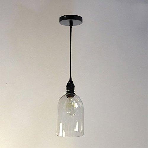 Industrielle Vintage Pendelleuchte E27 LED - 7