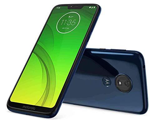 Price comparison product image Motorola Moto G7 Power 32GB+3GB RAM XT1955-2 LTE Factory Unlocked GSM 5000mAh Battery Smartphone (International Version) (Marine Blue) (Renewed)