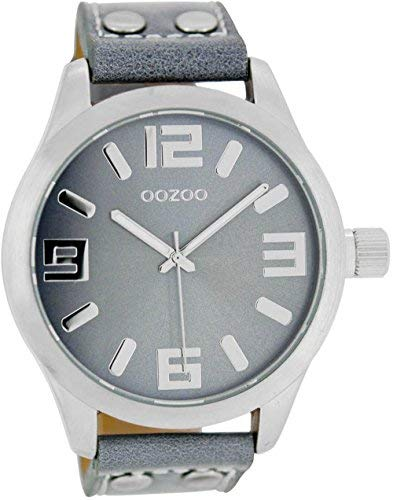 Oozoo C1060–Montre pour femmes, bracelet en cuir
