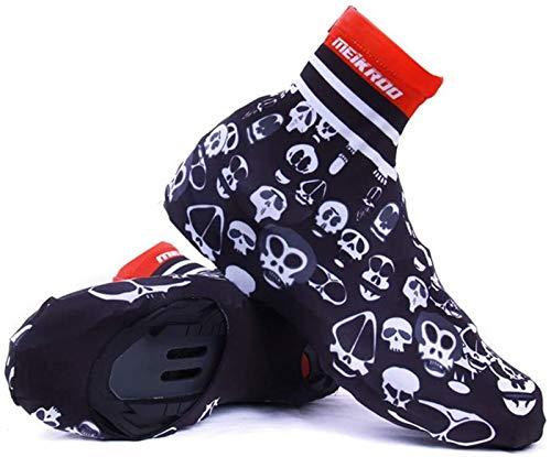 Cycling shoe covers waterproof Couverture de chaussures à vélos, chaussures de pluie imperméables Couvertures de chaussures de pluie pour femmes hommes réutilisables lavables pluie bottes de neige cou