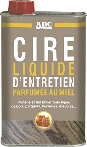 Cire Liquide d'Entretien pour meubles, parquets & boiseries - Entretien Bois - 500ml