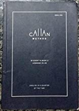 CAllAn METHOD STUDENT'S BOOK 2 ENGLISH IN A QUARTER OF THE TIME
