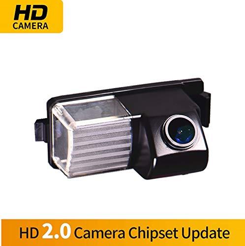 HD Caméra de Recul dans la plaque d'immatriculation Caméra vue arrière de voiture Imperméable IP69K Vision Nocturne pour Nissan R35 GTR/ 250GT Fairlady 350Z/ 370Z/ Cube Livina Geniss Tiida