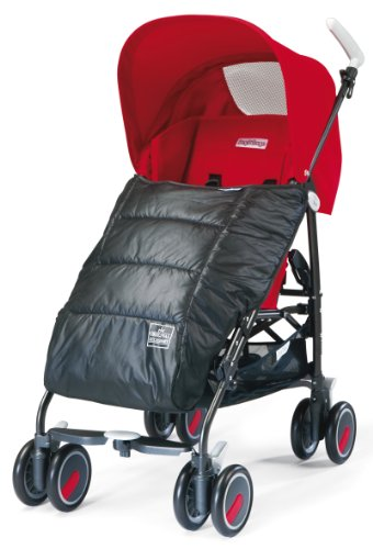 Peg Perego Y5BUBEINGR Fußsack für Aria/Mini/Booklet/Book for Two, grau