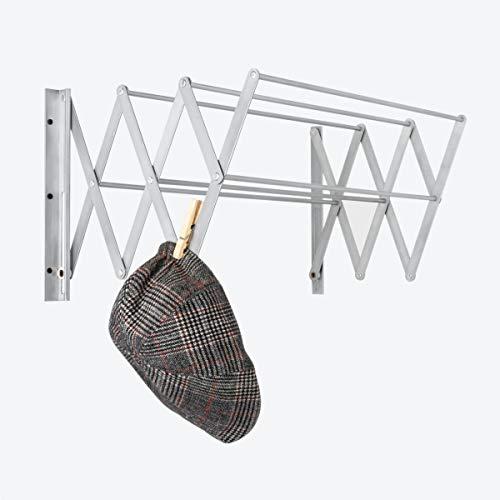 Cómodo Tendedero de Ropa Plegable P6-GB Para Hogar Blanco Retráctil (70 x 30 x 100 cm, Blanco)