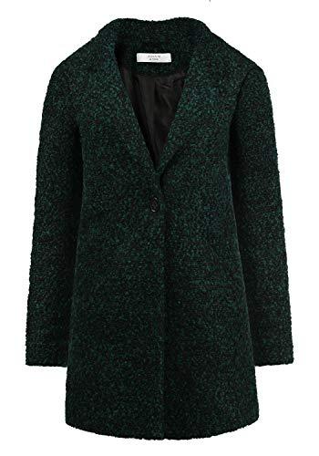 ONLY Berta Boucle Damen Winter Jacke Wollmantel Winterjacke Mantel aus Bouclé mit Reverskragen, Größe:M, Farbe:Ponderrose Pine