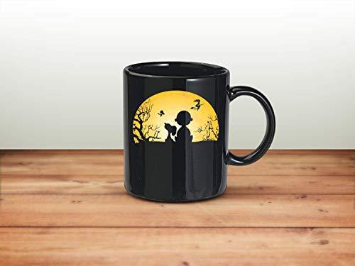 N\A - Taza de café Snoopy Moon Halloween Night 11oz