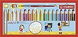 Lápiz de color multitalento STABILO woody 3 en 1 - Estuche con 18 colores y sacapuntas