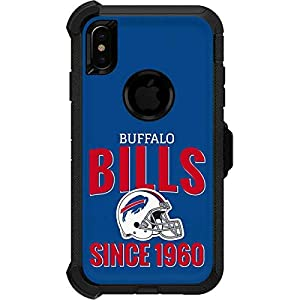 Skinit Decal Skin for OtterBox Defender iPhone Xs Max - Officially Licensed NFL Buffalo Bills Helmet Design