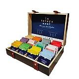 LA TETERA AZUL Pack 120 Infusiones en Caja Premium Organizadora de Madera