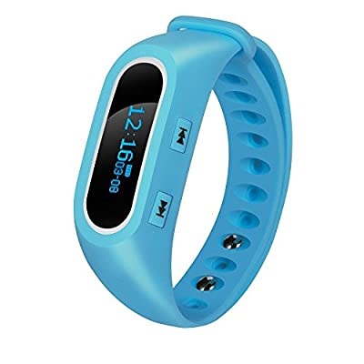 Fitness Tracker, NLSD Bluetooth Bracelet Smart Wristband with Heart Rate Monitor, Pedometer, Sleep Monitor, Tracking Calories burned, Remote Camera For iOS & Android Phones