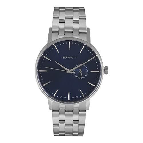 GANT Herren Analog Quarz Smart Watch Armbanduhr mit Edelstahl Armband W108412