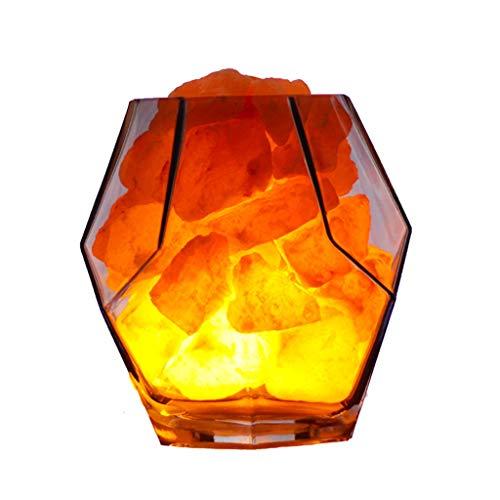 Luminaires & Eclairage/Luminaires intérieur/EC Lumière de Nuit Lampe de sel de Cristal Lampe en Cristal Naturel Mine de l'Himalaya Lampe LED Lumière de Nuit Lampe de Chambre créative Lampe Cristal