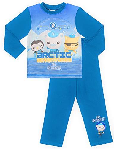 Octonauts Arctic Adventures Langer Schlafanzug 0442 Gr. 4-5 Jahre, blau