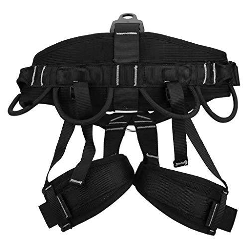 KAIHWGJ Equipo de escalada Trabajo al aire libre Cuerda de escalada en aloft cuesta abajo Cinturón de seguridad de media altura Cinturón de seguridad Cinturón de seguridad Cinturón de seguridad de esc