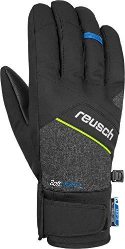 Reusch Luke R-TEX XT Handschuhe, Black Melange/Safety Yellow/Brilliant Blue, 8.5