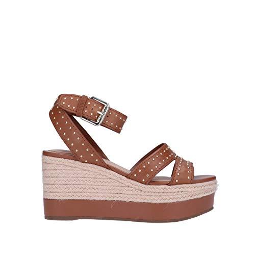 Guess FL6LAELEA04 - Sandalias con plataforma de color marrón claro para primavera y verano Marrón Size: 38 EU