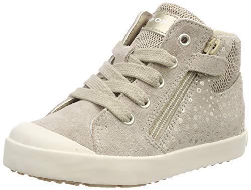 Geox Baby Mädchen B Kilwi Girl G Sneaker, Beige (Beige/Gold C0871), 26 EU
