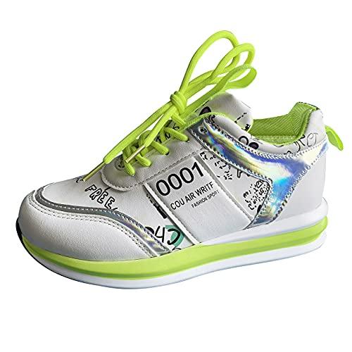 Zapatillas de Senderismo para Mujer Tejidas Ligeras y elásticas Transpirables para Caminar a la Moda, cómodas Zapatillas Deportivas Mary Jane Zapatos Antideslizantes hosteleria(A45_Yellow,37)
