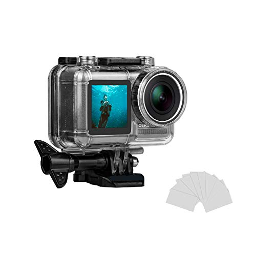 Kitspeed Housing Case for DJI Osmo Action Camera Waterproof Case 45M Diving Protective Housing Shell Case