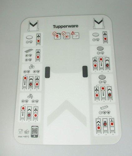 3. Tupperware – Tabla mandolina de color blanco