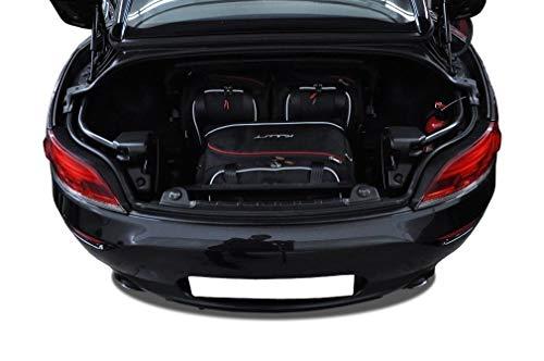 KJUST Dedizierte Kofferraumtaschen 3 STK kompatibel mit BMW Z4 E89 2009 - 2016