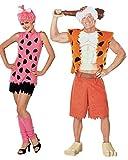 The Flintstones Adult Pebbles Costume, Pink, Medium
