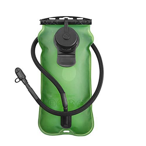 SKL 3 Liter Trinkblase Große Öffnung Wasserblase FDA Geprüfter BPA-frei Trinksystem ideal für Outdoor-Radfahren, Wandern, Laufen, Camping