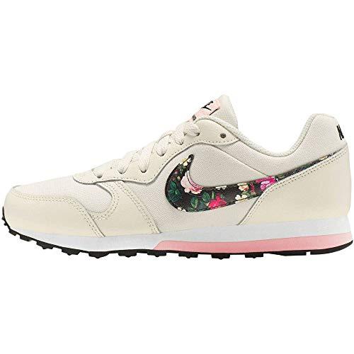 Nike MD Runner 2 Vintage Floral, Zapatillas de Marcha Nórdica Unisex Niños, Rosa (Pale Ivory/Black/Pink Tint/Whi 100),...
