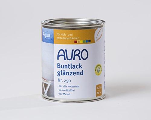 AURO Buntlack, glänzend - Ocker-Gelb - 0,75L