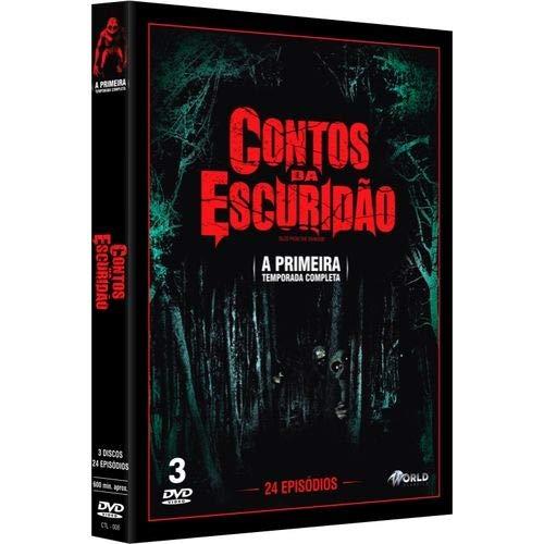 Box DVD Contos Da Escuridão - A Primeira Temporada Completa