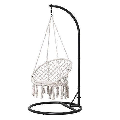 通用 ins Wind Hanging Chair Bedroom Girl Room Tassel Rocking Chair Nordic Indoor Balcony Home Swing Cradle