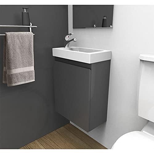lave main wc avec meuble ikea