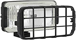 Halogen Fernscheinwerfer 12V 24V 180x86x76 mit Schutzgitter