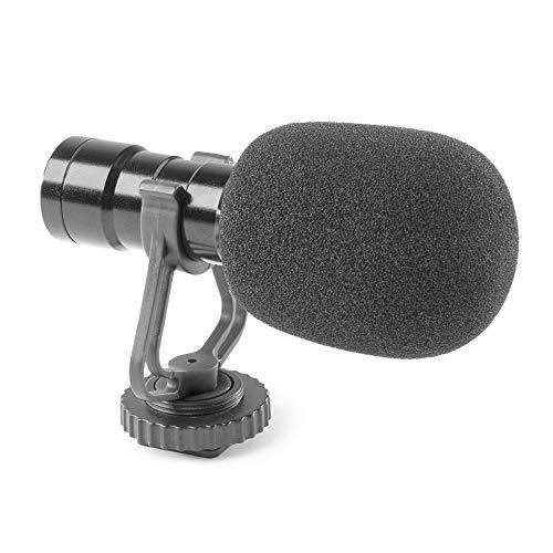 Vonyx CMC200 Micrófono de Condensador para Teléfono & Camara