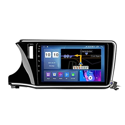 Gokiu Android 11 Car Stereo 2 DIN Head Unit para Honda City 2014-2017 Navegación Pantalla de 9 Pulgadas con Carplay Android Auto/5G WiFi/DSP FM Am RDS Radio Reproductor Multimedia,M600s