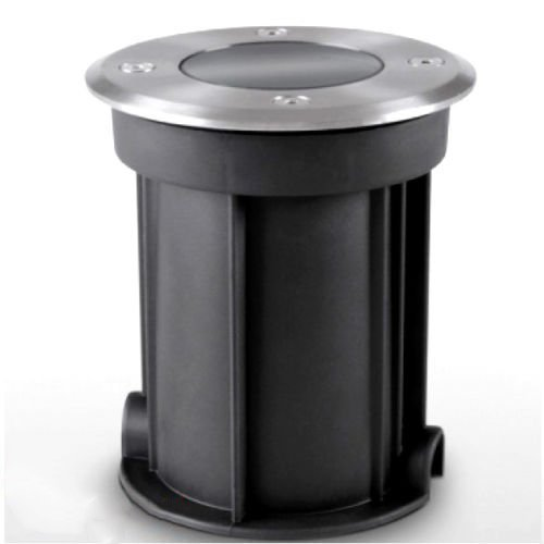 KingLed - Calpestabile da Giardino con Attacco Gu10 per Faretti Led, Lampada da Incasso Diametro Foro 100mm Compatibile con Faretti GU10 con Dimensione max 50*60mm Cod. 1223