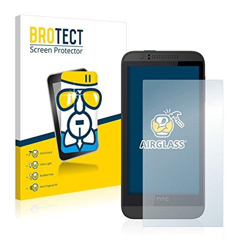 BROTECT Panzerglas Schutzfolie kompatibel mit HTC Desire 510 - AirGlass, extrem Kratzfest, Anti-Fingerprint, Ultra-transparent