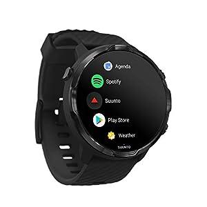 Suunto 7, GPS Sport Smartwatch with Wear OS by Google - Black (Renewed)