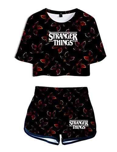Camiseta y Pantalón Corto Stranger...