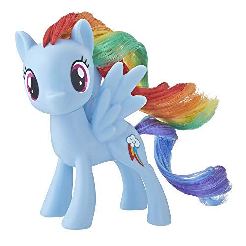 My little Pony Hasbro – e5006 Rainbow Dash – klassisches Pony, 7cm